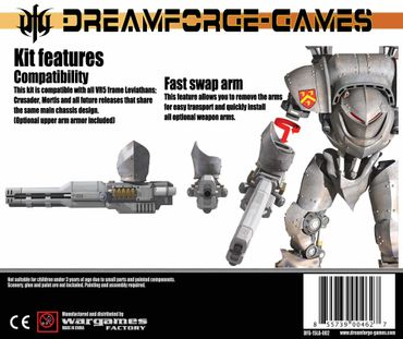 Leviathan HEL Cannon - 15mm Accessory Weapon – Bild 2