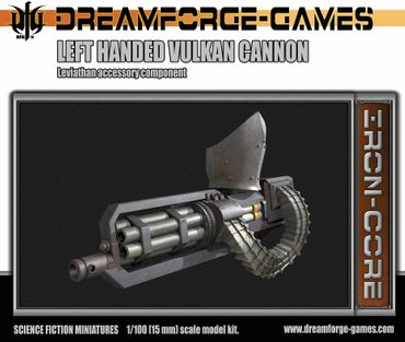 Leviathan Left Handed Vulkcan Cannon - 15mm Accessory Weapon – Bild 1