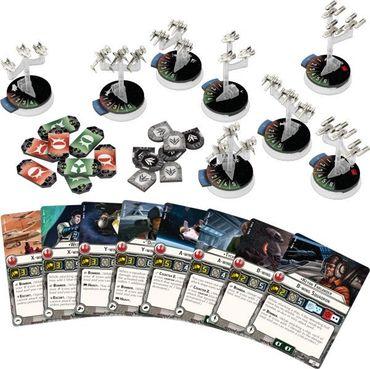 Star Wars Armada Sternenjägerstaffeln der Rebellenallianz Erweiterung (Deutsch) – Bild 2
