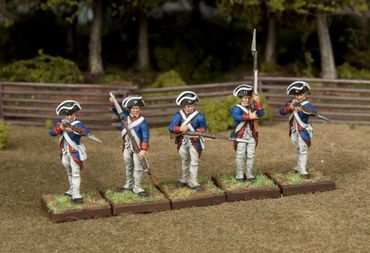 28mm Continental Infantry American War of Independence (30) – Bild 4