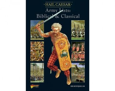 Hail Caeser - Army Lists Vol.1 - Biblical & Classical