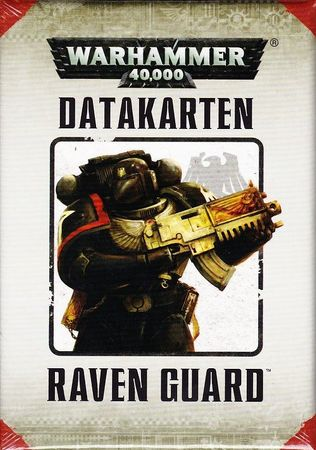 Raven Guard Datakarten (Deutsch)