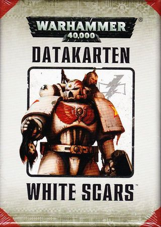 White Scars Datakarten (Deutsch)