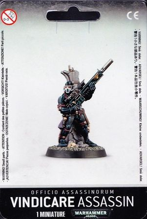 Vindicare Assassin Officio Assassinorum