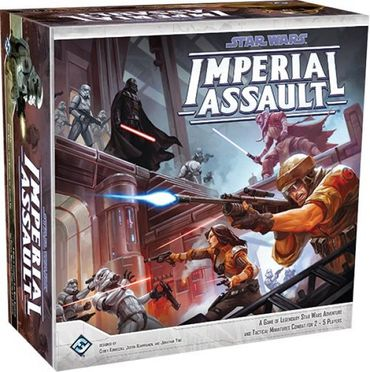 Star Wars Imperial Assault - Das Imperium greift an (Deutsch) – Bild 1