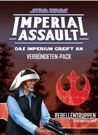 Star Wars Imperial Assault - Rebellentruppen Erweiterung (Deutsch)