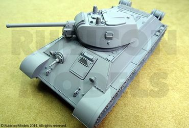 Soviet Medium Tank T-34/76 1/56 (28mm) – Bild 2