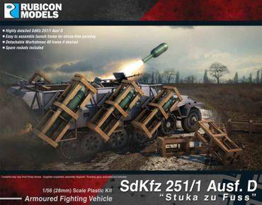 SdKfz 251/1 Ausf D - Stuka zu Fuss 1/56 (28mm)