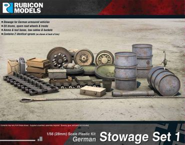 Stowage Set 1 German 1/56 (28mm)