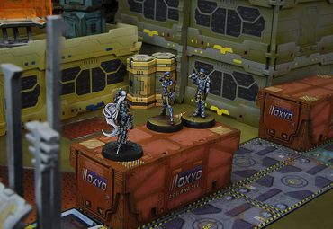 Dire Foes Mission Pack 1: Train Rescue (Panoceania vs Combined Army) – Bild 2
