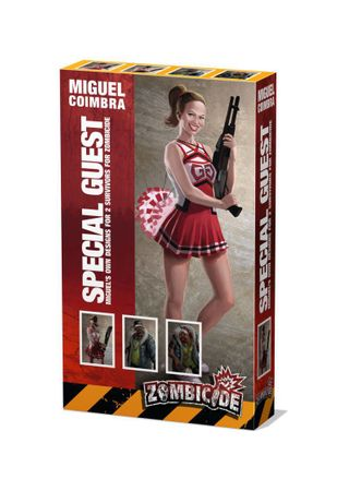 Zombicide Special Guest Box Miguel Coimbra