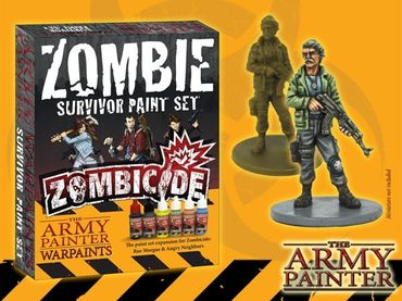 Zombicide Survivor Paint Set – Bild 1