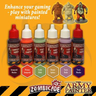 Zombicide Toxic Prison Expansion Paint Set – Bild 2
