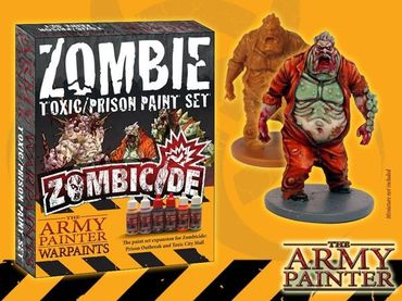 Zombicide Toxic Prison Expansion Paint Set