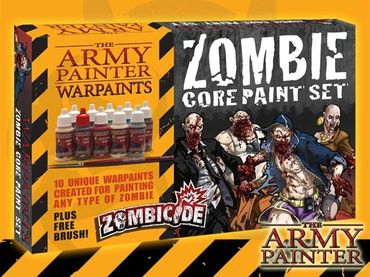 Zombicide Zombie Core Paint Set – Bild 1