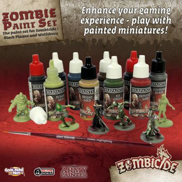 Zombicide Black Plague Paint Set – Bild 2
