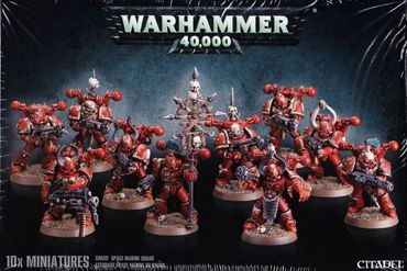 Chaos Space Marines Trupp