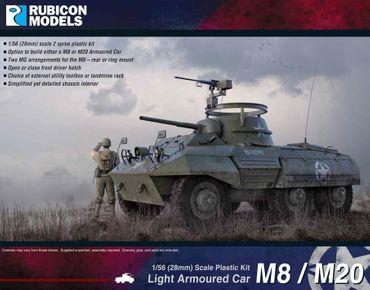 M8 / M20 Light Armoured Car 1/56 28mm