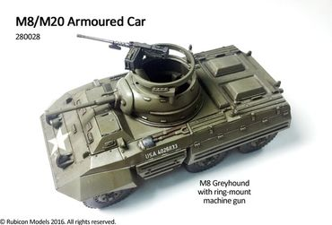 M8 / M20 Armoured Car 1/56 (28mm) – Bild 2