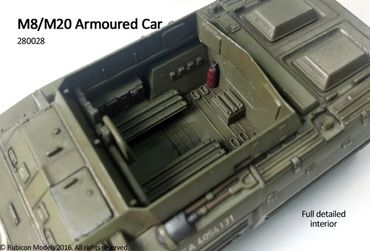 M8 / M20 Armoured Car 1/56 (28mm) – Bild 4