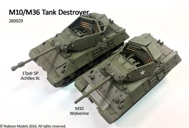 M10 / M36 Tank Destroyer 1/56 (28mm) – Bild 2