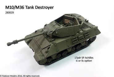 M10 / M36 Tank Destroyer 1/56 (28mm) – Bild 1
