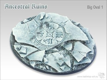 Ancestral Ruins 120mm Big Oval 1 (1) – Bild 1