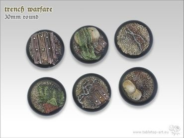 Trench warfare 30mm Rundbase RL (5) – Bild 3