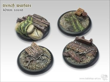 Trench warfare 40mm Rundbase RL (2) – Bild 1