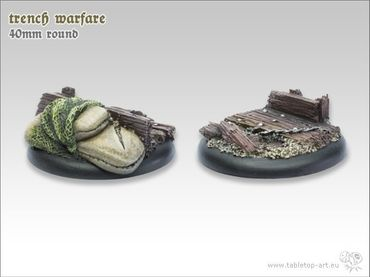 Trench warfare 40mm Rundbase RL (2) – Bild 2