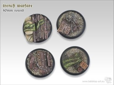 Trench warfare 40mm Rundbase RL (2) – Bild 3