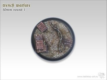 Trench warfare 50mm Rundbase RL 1 (1) – Bild 3
