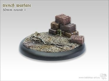 Trench warfare 50mm Rundbase RL 1 (1) – Bild 2