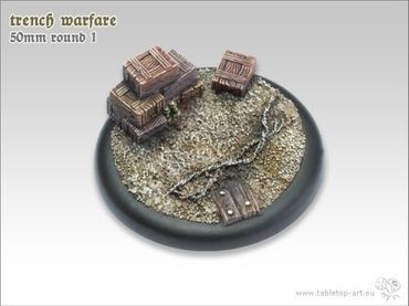 Trench warfare 50mm Rundbase RL 1 (1) – Bild 1