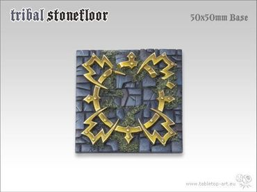 Tribal Stonefloor 50x50mm Monster (1) – Bild 3