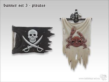 Banner Set 3 Piraten (2) – Bild 1