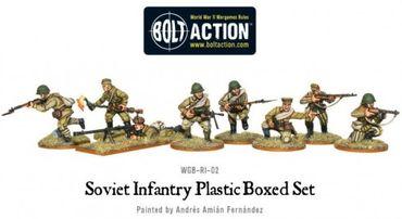 Soviet Infantry 28mm – Bild 3