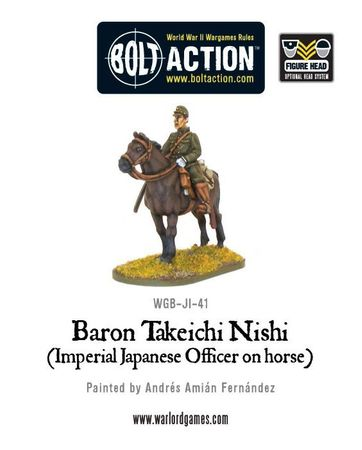 Baron Nishi (Imperial Japanese officer on horse) – Bild 2