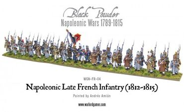 Napoleonic Late French Line Infantry 28mm – Bild 2