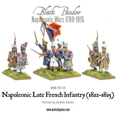 Napoleonic Late French Line Infantry 28mm – Bild 3