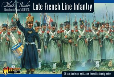 Napoleonic Late French Line Infantry 28mm – Bild 1