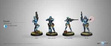 PanOceania Knights Fusiliers