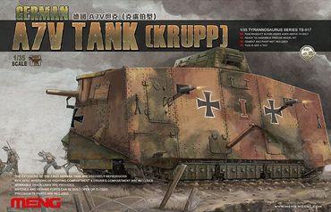 Meng German A7V Tank Krupp 1/35