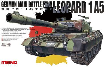 Meng German Main Battle Tank Leopard 1A5 1/35