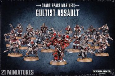 Chaos Space Marines Cultist Assault