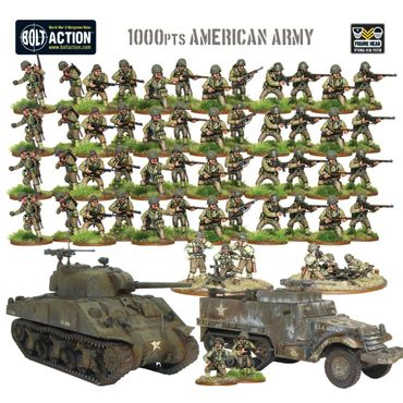 Bolt Action Starter Army - American 28mm – Bild 2