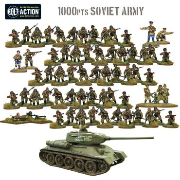 Bolt Action Starter Army - Russian 28mm – Bild 2