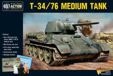 Soviet T34/76 Medium Tank 28mm – Bild 1
