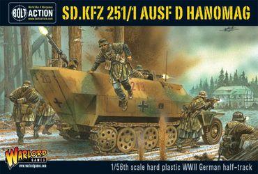 Sd.Kfz 251/1 Ausf D Halftrack 28mm