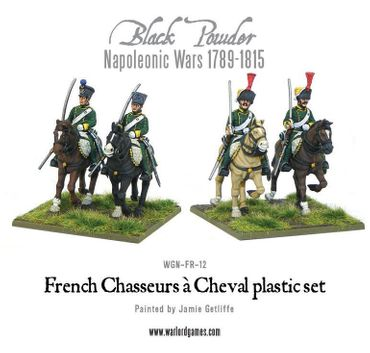 Napoleonic French Chasseurs a Cheval Light Cavalry 28mm – Bild 3